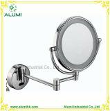 Miroir de agrandissement fixé au mur de produit de beauté de miroir de renivellement d'hôtel