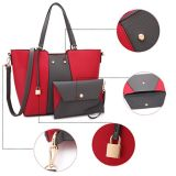 Handbag方法女性トートバックの高品質の大きい容量の女性袋のミイラ袋のショッピング・バッグ(WDL0486)