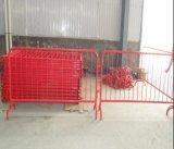Barriera di sicurezza pedonale d'acciaio/barriera controllo di folla per gli eventi