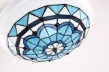 Indicatore luminoso di modello del ventilatore di soffitto 42wf838wh con il paralume di Tiffany
