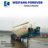 3半車軸60tons小麦粉のセメントの大きさタンクトレーラー