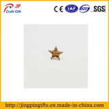 Custom высокого качества покрытие Gold Star форма Металлическая булавка для подарков