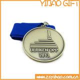 Medalla de oro de encargo del esmalte para los regalos de la colección (YB-MD-43)