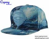 金属ロゴのカスタム革縁のSnapabackの帽子の帽子