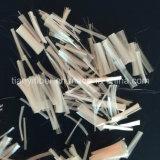 Fibra di rinforzo di fibra del filamento della fibra di graffetta di poliestere della Antic-Crepa