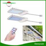 La luz del sensor de movimiento Solar jardín lámpara de pared de la seguridad de 56 LED 1000 Lumen de aleación de aluminio resistente al agua iluminación