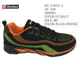 Trois couleurs pilotent des chaussures de sport de taille d'hommes de Knit
