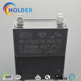 Condensador de Motor AC (CBB61 2.5UF/450V) para los fans, Air-Conditioners, refrigeradores, equipos de oficina, lámpara de mercurio, las lámparas fluorescentes.