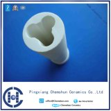 Hersteller-Technik-Tonerde-keramisches Leitungsrohr für Abnutzung Maintanance