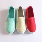 Новые моды дамы ЭБУ системы впрыска платформы Canvas обувь пробуксовки колес на чартерных обувь