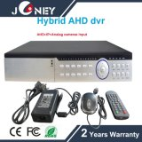 1ハイブリッドDVR (入るAHD CVI TVI CVBS IP)に付き24CH/32CH 5