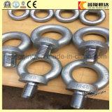 Yeux de /Screw d'acier du carbone DIN 580/boulons d'oeil/vis d'oeil