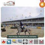 Шатер двойного Decker высокого пика используемый для Riding лошади и высоких случаев типа