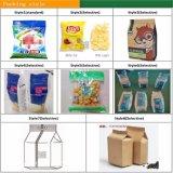 Malaysia liofilizou a máquina de empacotamento automática do alimento do pó da fruta
