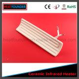 China hizo personalizados de alta calidad placa de cerámica del calentador infrarrojo
