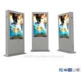 Индикация LCD 65 дюймов двойная, котор встали на сторону напольная для рекламировать