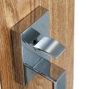 Serratura standard americana del piatto in lega di zinco dell'argento delle maniglie di portello di chiusura dell'entrata