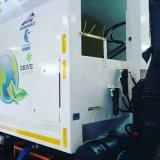 Double cylindre temporaire de piston de pétrole hydraulique télescopique pour le camion d'ordures