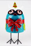 Soem-Entwurfs-Großverkauf-Metallgarten verziert Vogel-Dekoration