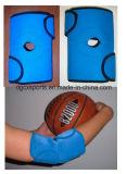 スポーツのための快適な魔法テープネオプレンの肘サポート