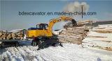 Máquina de China Baoding/cargador de madera de la caña de azúcar