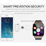Telefone desenvolvido novo do relógio de Bluetooth com tela curvada (X6)