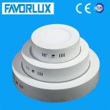 Nuova indicatore luminoso di comitato montato di stile superficie rotonda 6W LED