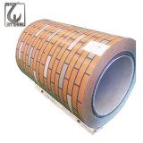 Bobine en acier enduite par couleur de PPGI pour le matériau de construction