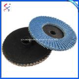 Pulido de abrasivos para la molienda de la rueda de la tapa de madera y metal