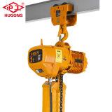 El precio bajo construcción Hsy polipasto de cadena eléctrico con interruptor de límite