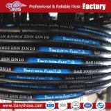 La manguera y accesorios industriales Fábrica de Jde SAE 100 R2 en las mangueras hidráulicas
