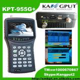 Video Kpt-955g+ del cercatore del segnale del CCTV satellite della prova e di Ahd