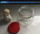 Frasco de vidro da conserva do mel do atolamento dos favores do casamento com tampa do parafuso
