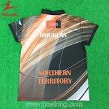 Polo-Hemd der Healong Form-Firmenzeichen-Kleid-Farben-Sublimation-Männer