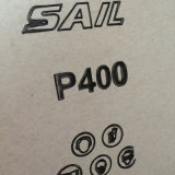 Шкурка корабля E-Веса алюминиевой окиси импортированная для древесины полируя a-E 400#