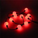 Sfera decorativa degli indicatori luminosi DMX 3D di natale esterno di festa LED