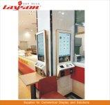 OEM de Vloer die van 55 Duim LCD Signage van de Vertoning de Digitale Kiosk van de Betaling van de Bankkaart van de Rekening van de Zelfbediening van de Kiosk van de Informatie van het Scherm van de Aanraking van de Reclame Interactieve bevindt zich