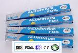papel de aluminio del hogar de la categoría alimenticia de 8011-O 0.012m m para el Bbq