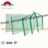 8mm+ 1,52mm PVB + 8mm de vidro laminado de segurança temperado para grades de proteção do prédio