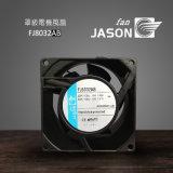 Ventilador axial 80mm, ventilador de refrigeração da C.A., ventilador Fj8032ab de 80X80X38 milímetro