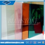 6мм8мм10мм12мм безопасности слоистого стекла с Млечным/розовый/синий/бронза PVB пленки