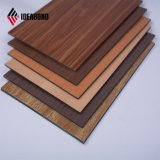 La conception de la texture de bois Ideabond magnifique mur intérieur ACP