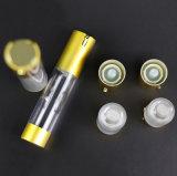 プラスチックスプレーのローションの空気のないびん(NAB24)を包む化粧品