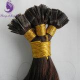 바디 파도치는 브라운 색깔 각질 편평한 끝 머리 연장