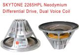 Горяч-Продающ '' диктор 2265HPL 15 с Woofer водителя магнита неодимия