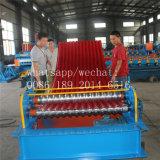 Rodillo de acero del color que forma la máquina para curvar y prensar