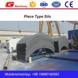 Preço do silo do cimento do armazenamento 80ton do pó de maioria