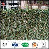 Planta de hojas artificiales al aire libre Jardín decorativo Esgrima barato
