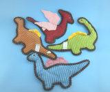 Juguete relleno suave del caballo del animal doméstico de la felpa con la cuerda y el Squeaker
