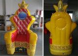 2016 Hot Sale Inflatable Party Chair, Princesse gonflable pour la publicité